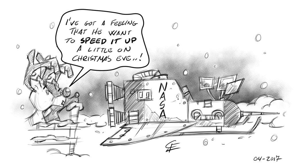 Christmas Calendar Sketch #04